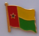Guinea-Bissau Country Flag Enamel Pin Badge